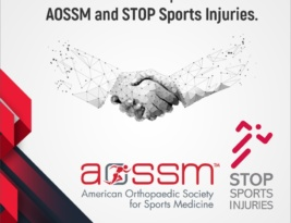 Official tie-up with AOSSM and STOP Sports Injuries